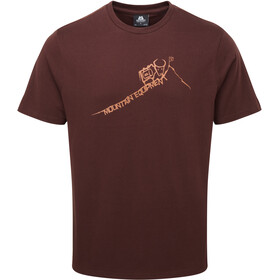 Mountain Equipment Yorik - T-shirt manches courtes Homme - marron